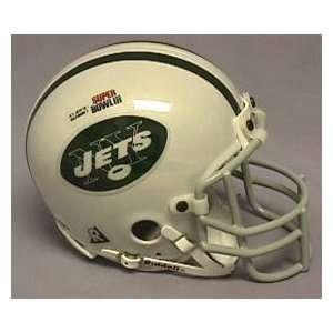 Jets NFL Chrome Mini Football Helmet