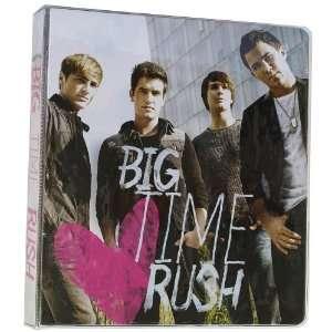 Big Time Rush 3 Ring Binder   1