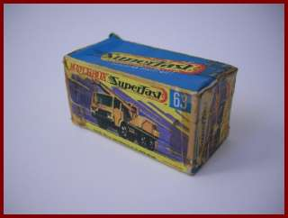 MATCHBOX Superfast 63 DODGE CRANE TRUCK from JAPAN