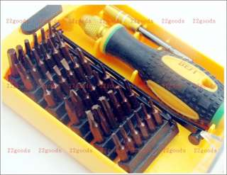 Screwdriver Tools Kit Set T15 T20 Y0 Y1 H0.9 H2.0 H3.0