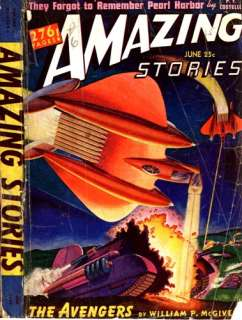 AMAZING STORIES (1940 1944)   45+ PULP MAGAZINES ON DVD