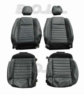 2011 2013 OEM Mustang Convertible Leather Seat Covers