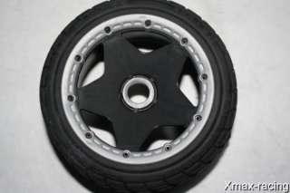 Rovan 1/5 on Road Tarmac Wheels & Tires fit HPI Baja 5B Ready to Bolt