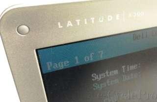 Dell Latitude X300 Laptop  Pentium M 1.20GHz  5400RPM  DDR 40GB