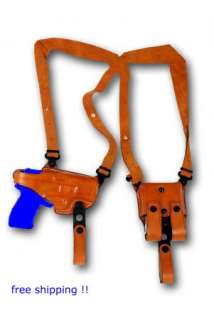 LEATHER SHOULDER HOLSTER 4 SPRINGFIELD XD 9 40 XDM 45