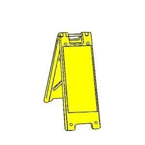 Blank Minicade A frame Portable Sign Stands, ColorWhite