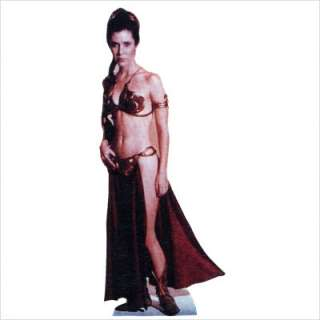 Leia Slave Girl Life Size Cardboard Stand Up 249 082033002497