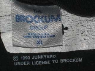 VTG JUNKYARD 1990 TOUR T SHIRT guns n roses concert XL