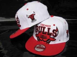 Brand NEW Snapback white/red adjustable Cap & Hat 08