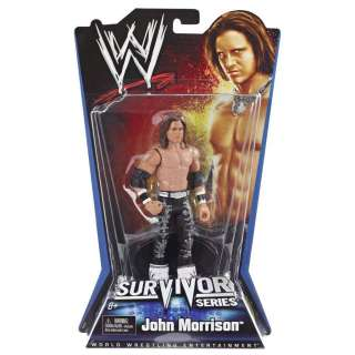 JOHN MORRISON WWE MATTEL SURVIVOR SERIES ACTION FIGURE