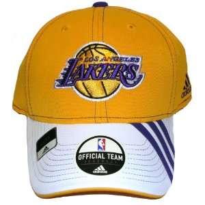Adidas Los Angeles Lakers Hat Flex Fit Cap official team