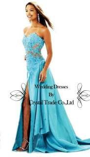 Sweetheart Applique Prom Dress Ball Gown Formal Evening Party Dress