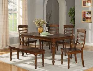 PC RECTANGULAR DINING ROOM SET TABLE AND 4 CHAIRS