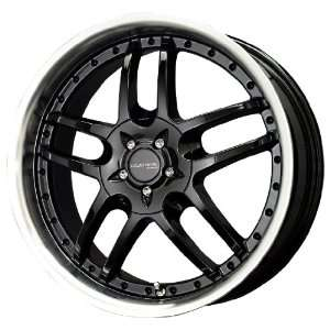 Liquid Metal Core Gloss Black Machined Wheel (18x7.5