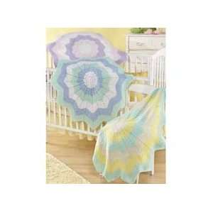 Baby Round Ripple Afghan Pattern Arts, Crafts & Sewing