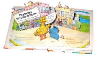 Sesame Street Big Birds Rhyming Book (1979) Pop Up