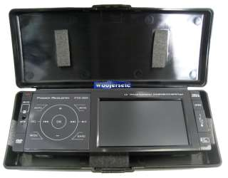 PTID 3600   Power Acoustik 1 DIN DVD Receiver with 3.6 TFT LCD Touch