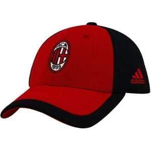 Adidas Ac Milan Hat Red and Black Cap
