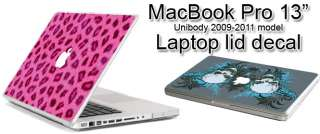 This auction is for a MacBook Pro 13in 2009 2011 decal.