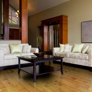 Engineered hand scraped hard maple walnut hardwood floor for Hardwood floors popping