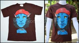 New Avatar Che Guevara Cap Red Fanny Man T Shirt Tattoo Bike Rock Punk