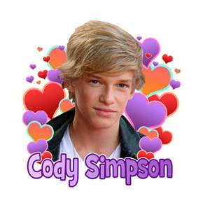 CODY SIMPSON CUSTOM T SHIRT SHIRT TEE SIMPSONS