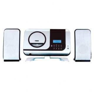 Naxa NS 434 Digital CD Micro System with AM/FM Stereo Radio