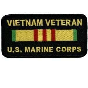 Viet Nam Veteran USMC Marine Corps Biker Patch!: Everything Else