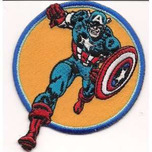Marvel Comics Captain America Run Embroidered PATCH