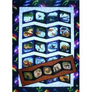 Alaska Photo Album Quilt & Table Runner Pattern by Quilts With a Twist