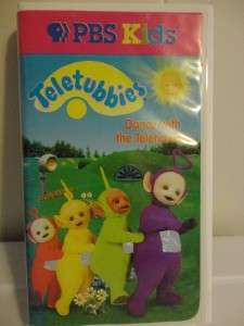 VHS tapes kids videos movies PBS Tinky winky LaLa Poe Dipsy |