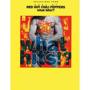 Peppers What Hits!? Guitar Tab Book Red Hot Chili Peppers Books