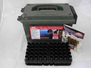 MTM 100 Shotgun Shell 20GA Ammo Case Camo Dry Box