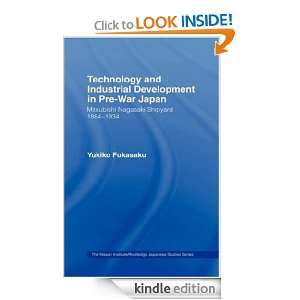 Technology and Industrial Growth in Pre War Japan:The