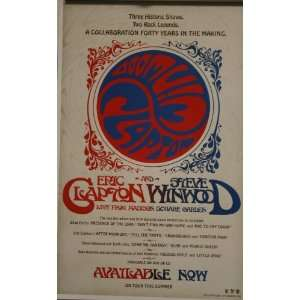 Eric Clapton & Steve Winwood Live From the Madison Square