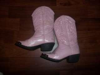 534) SMOKEY MOUNTAIN PINK SZ 9 GIRLS COWGIRL COWBOY BOOTS