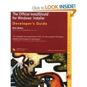 The Official InstallShield for Windows Installer Developer