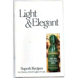 Recipes for Chicken, Fish & Lighter Foods by Lea & Perrins White