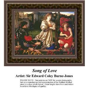 Song of Love Cross Stitch Pattern PDF Download Available