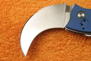 New NAVY G10 Handle 440C Stainless Steel Folding Knife K 635