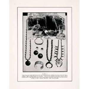 Hopi Indian Native American Indian Ethnic   Original Halftone Print
