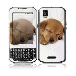 Animal Sleeping Puppy Design Decorative Skin Cover Decal