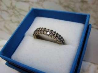 CHOCOLATE BROWN DIAMOND ETERNITY ANNIVERSARY BAND RING 10K GOLD