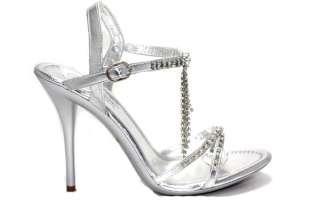 Patent Drop Line Charming Open Toe Crisscross High Heel