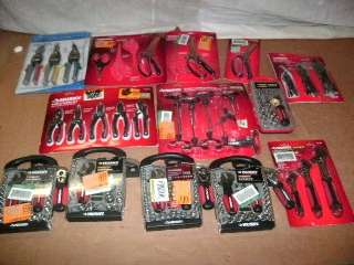 WHOLESALE LOT OF ASSORTED NAMEBRAND HAND TOOLS AND SETS