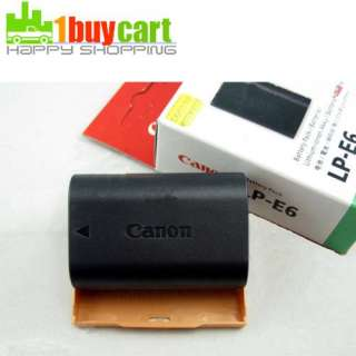 New LP E6 EOS 5D Mark II 7D 60D Battery 1800mAh for Canon qf
