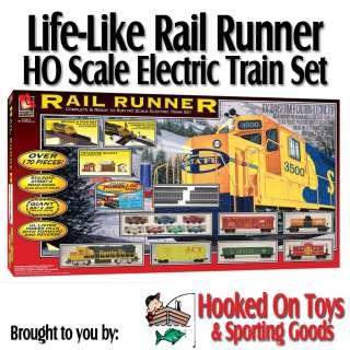 Rail master ho scale electric train set