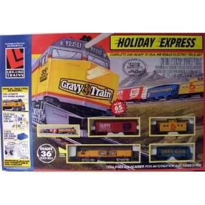 Life Like Trains Holiday Express Toys & Games