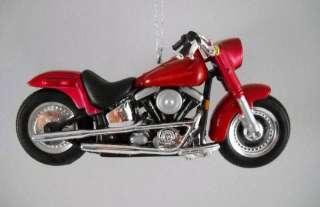 Harley Davidson FLSTF Street Stalker Diecast Ornament