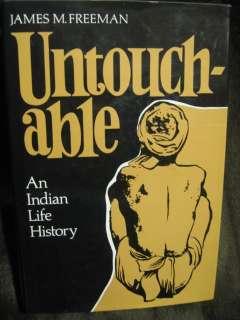 India Caste Untouchables History Bauri Transvestite HC 9780804710015